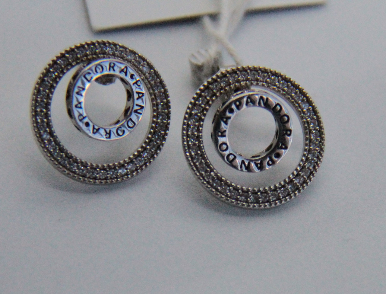 Серьги из серебра Мої прикраси в стиле Pandora