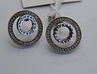 Серьги из серебра Мої прикраси в стиле Pandora , фото 1