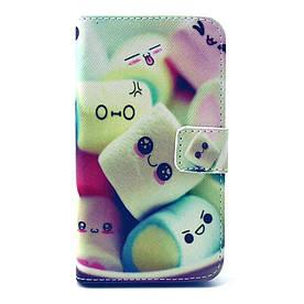 Чехол Samsung Galaxy Core Prime G360H книжка боковой c отсеком для визиток, Симпатичный десерт