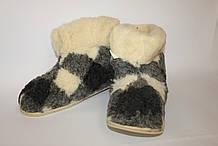 Чуни с подошвой из овечьей шерсти, размер 35-46 \ Tvd - 1057