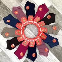 Носки женские демисезонные бамбук короткие Carabelli, Турция, 36-40 размер, ассорти, 03755