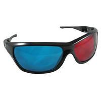Красно-синие анаглифные 3D стерео очки 3DS