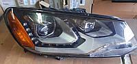 Фара правая 7P1941752A VW Touareg 2011-2014 США БУ, фото 1