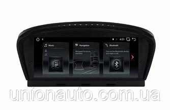 Штатна автомагнітола ANDROID 7.1 BMW 5 серії E60 E61 E62 E63 3 серії E90 E91 CCC/CIC