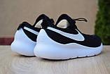 Мужские кроссовки в стиле Nike Air Max Tavas черные на белой, фото 7