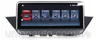 "Штатна автомагнітола BMW X1 E84 2009-2015 Android 7,1 10,25 """