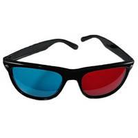 Красно-синие анаглифные 3D стерео очки
