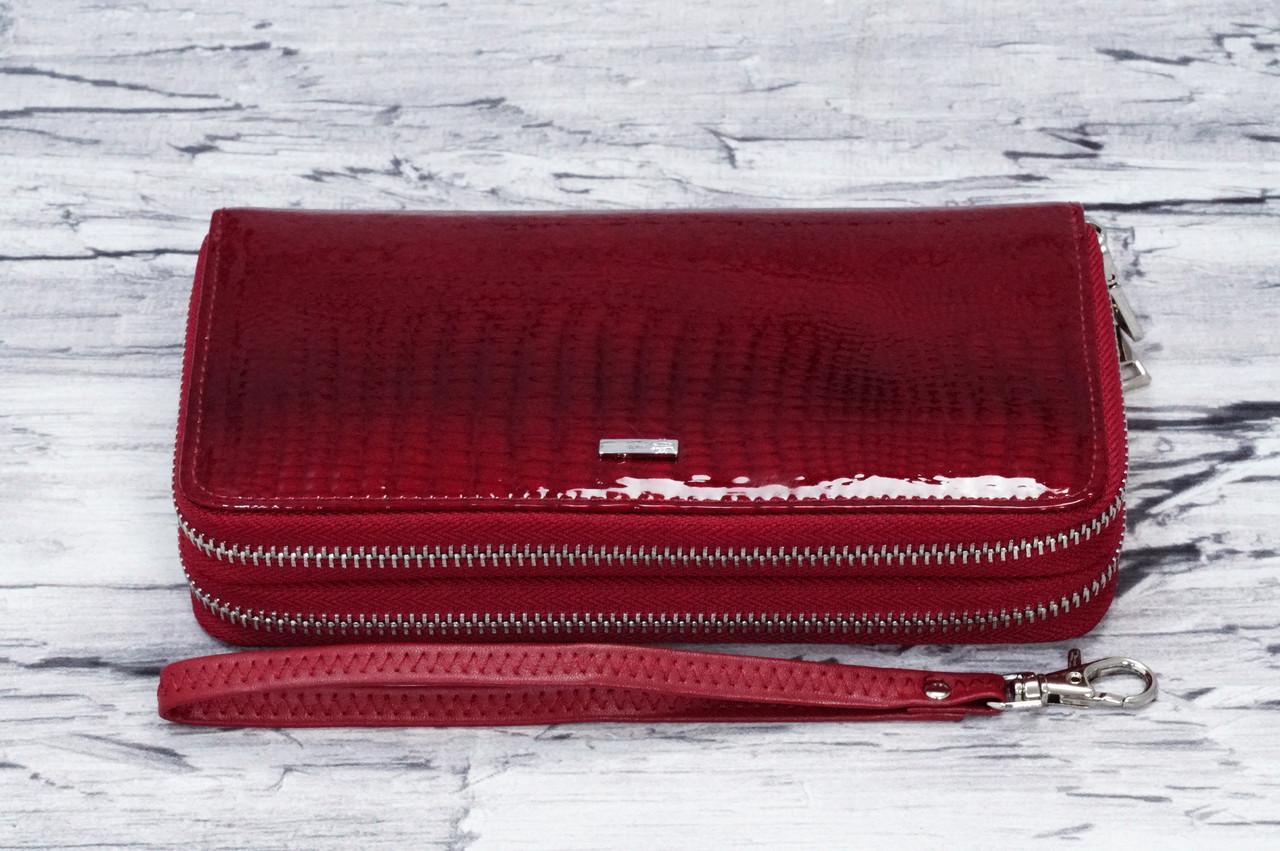 cb7dcebfd4c1 Кожаный кошелек Balisa на две молнии B135-571-2 red