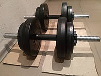 Гантели композитные 2 х 16 кг, фото 1