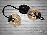 Світильник лофт на дві лампи 356-2CF, фото 3