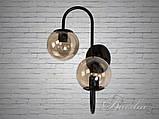 Світильник лофт на дві лампи 356-2CF, фото 4