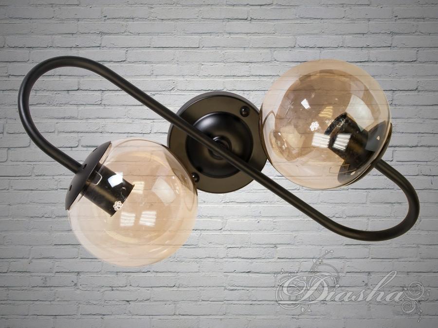 Світильник лофт на дві лампи 356-2CF