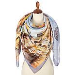 10731-1, павлопосадский платок из вискозы с подрубкой, фото 3