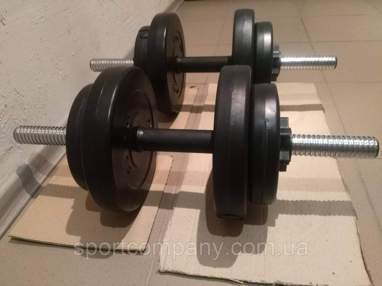 Гантели композитные 2 х 26 кг