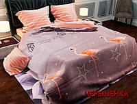 """Евро макси набор постельного белья 200*220 из Бязи """"Gold"""" №157452AB  Черешенка™"""