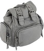 Женский рюкзак Traum 7235-27 искусственная кожа 5 л серый