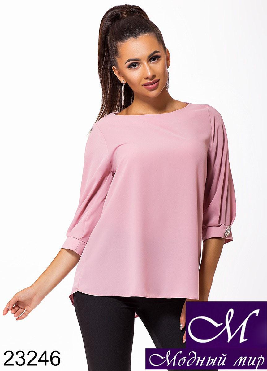 Женская свободная блуза (р. 42-44, 46-48) арт. 23246