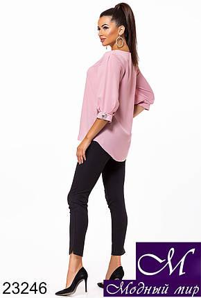 Женская свободная блуза (р. 42-44, 46-48) арт. 23246, фото 2