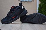 Мужские кроссовки в стиле Nike zoom 2k черные с красным, фото 2