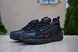 Мужские кроссовки в стиле Nike zoom 2k черные с красным, фото 6