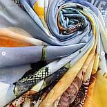 10731-1, павлопосадский платок из вискозы с подрубкой, фото 4