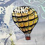 10731-1, павлопосадский платок из вискозы с подрубкой, фото 5