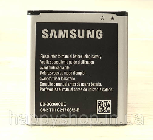 Оригинальная батарея Samsung Galaxy Core Prime G360/G361 (EB-BG360CBE/EB-BG360CBC), фото 2