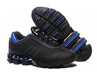 Мужские кроссовки Adidas Porsche Design IV Rubber Black Blue размер 41 (Ua_Drop_111406-41)