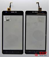 Сенсор для телефона Bravis a503 Joy / S- TELL M510/ Oukitel C3 / Черный (2000264)