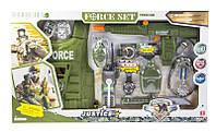 Детский военный набор для мальчика спецназ с бронежилетом sct