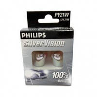 Philips PY21W Silver Vision 12496