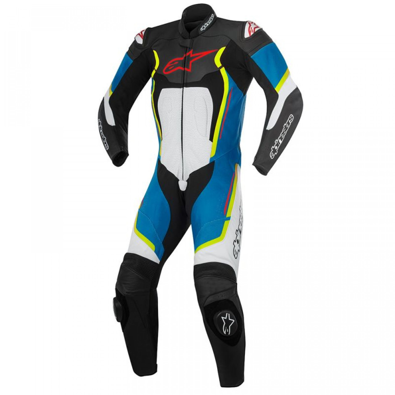 Комбинезон Alpinestars Motegi V2 1 PC Leather Suit  52