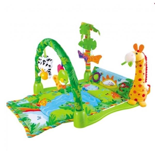 """Развивающий коврик для детей Baby Gift """"Тропический лес"""" 3059 (602669)"""