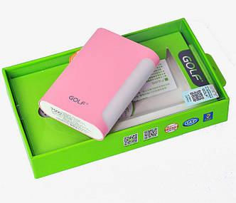 Power Bank GOLF GF-D13 pink 7500mah