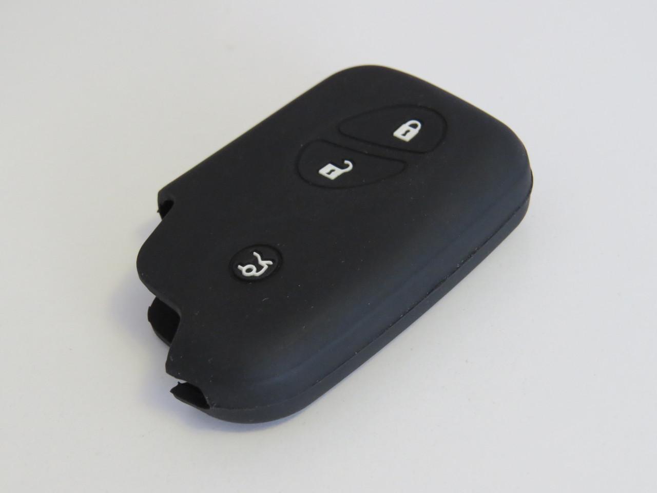 Чехол силиконовый для ключа зажигания Lexus V2. Чехольчик для ключа Лексус