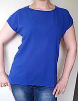 Женская летняя блуза   из цветного крэпшифона