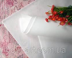 Фоаміран зефірний 1мм 50х50 см №03 білий (Китай) див.описання