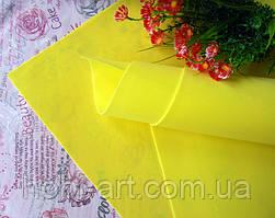 Фоаміран 1мм 50х50 см №06 жовтий (Китай) див.описання