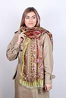 Шелковый красивый женский шарф