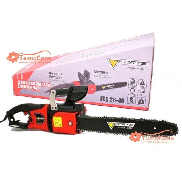 Электропила цепная Forte FES26-40