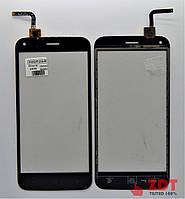 Сенсор для телефона Bravis a506 Crystal / S-TELL M621 / UMI London REV. 2 Черный (2000269)