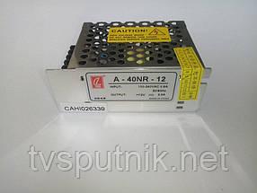 Импульсный блок питания A-40NR-12 (12В 3А)