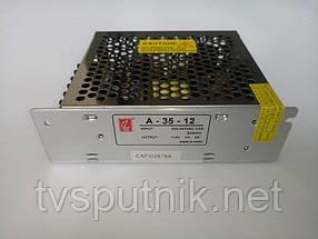 Импульсный блок питания А-35-12 (12В/3А)