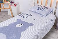 Детское покрывало Большая мечта 145*205 см + наволочка 50*70 см Комплект