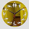 """Настінні 3D годинник з дзеркальним ефектом """" ХХХ """", фото 3"""