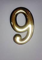 """Номерок для дверей """"9"""" (10 см)."""