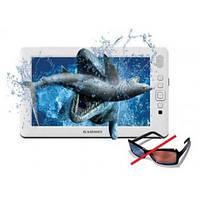 Портативный мультимедийный 8-ми дюймовый 3D Full HD 1080p MP4