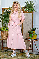 Платье женское полубатал, батал, р-ры 48-56