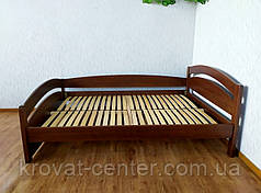 """Полуторная деревянная кровать """"Марта Премиум"""" от производителя, фото 2"""