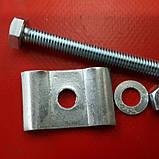Кріплення для секцій огорожі ( комплект), фото 2